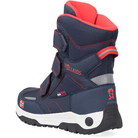 TROLLKIDS Lofoten Winter Boots Kids, navy/red